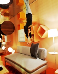 The Upside-down room